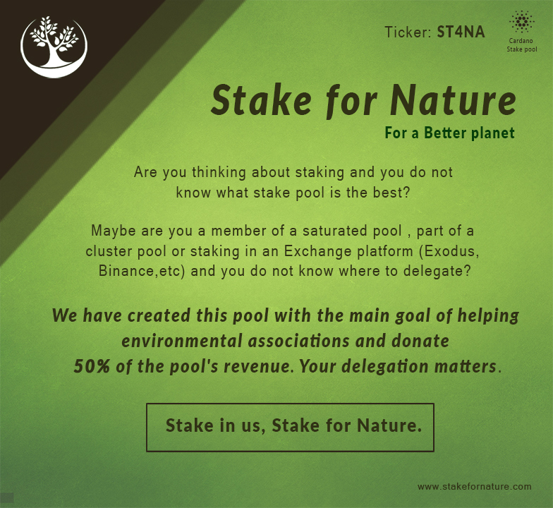 Stake for nature